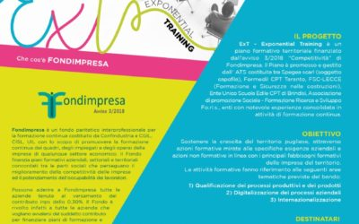 FONDIMPRESA EXT- EXPONENTIAL TRAINING